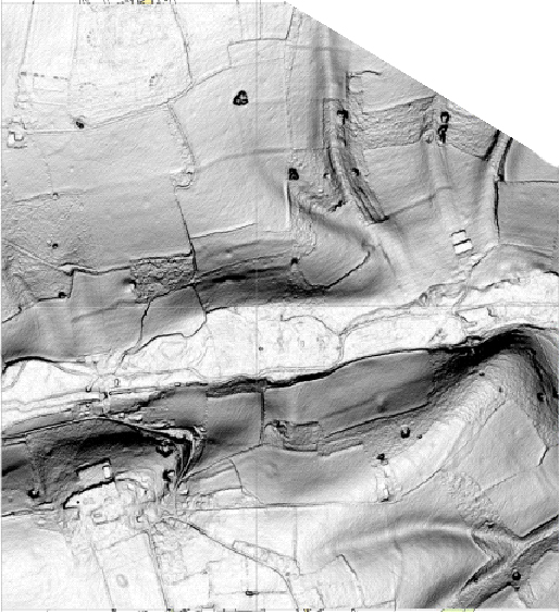 Lidar Image of Chess Valley