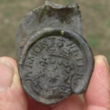 Seal from mineral water bottle c1800