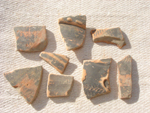 Undated pottery fragments